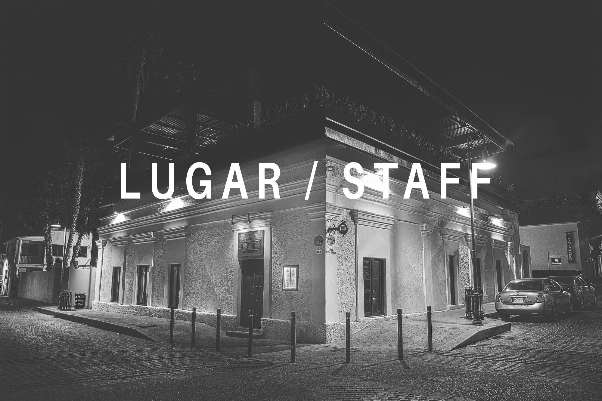 Lugar – Staff